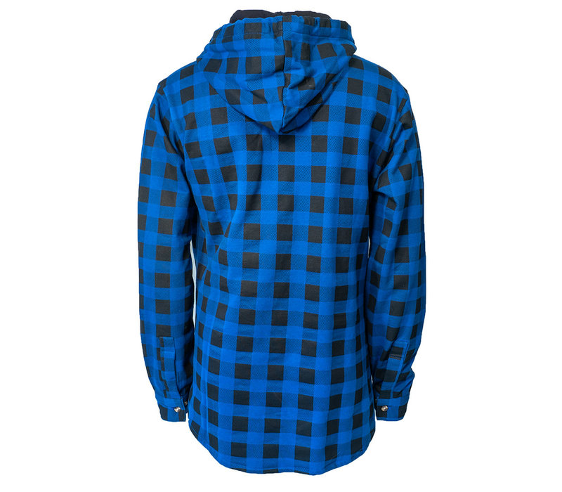 Men's Plaid Shirt With Hood