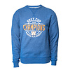 New Era Blue - Royal Circle Grey Cup Crewneck