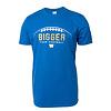 Blue Bombers Brand Winnipeg Harvest Bigger Than Football Tee