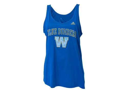 Adidas Faded Arch Royal Tank Top