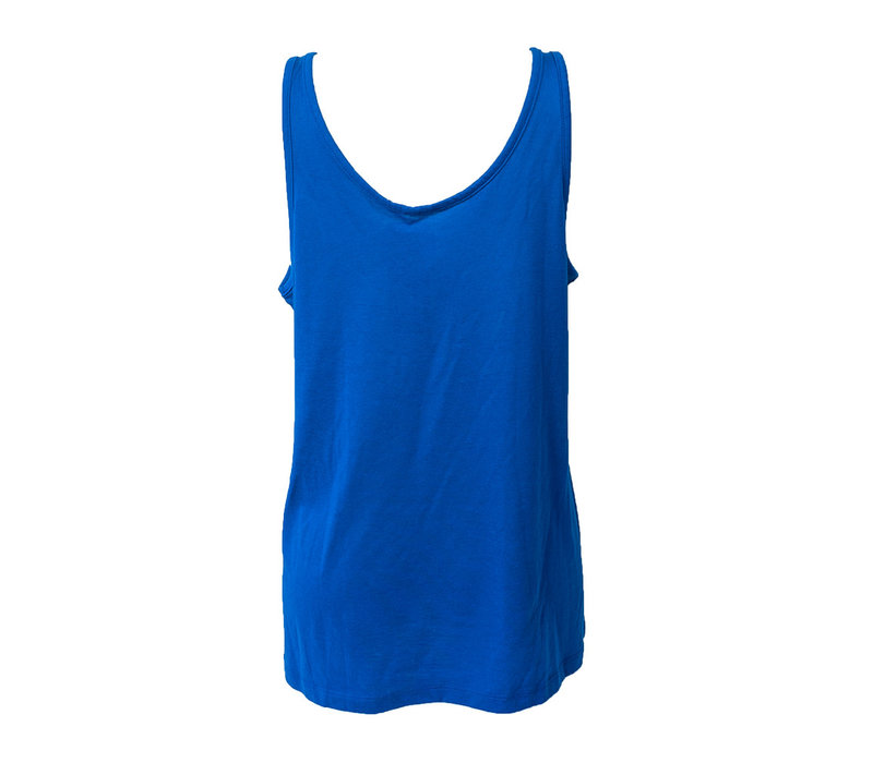 Ladies Faded Arch Royal Tank Top