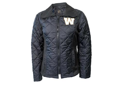Saxon Women's Black Freezer Jacket