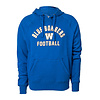 New Era Arched Blue Bombers Pull Over Hoodie