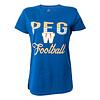 Bulletin Women's - PEG W Football Tee