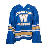 2019 Grey Cup Champions Hockey Jersey