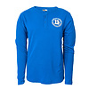 New Era Royal 11X Champs Logo Henley