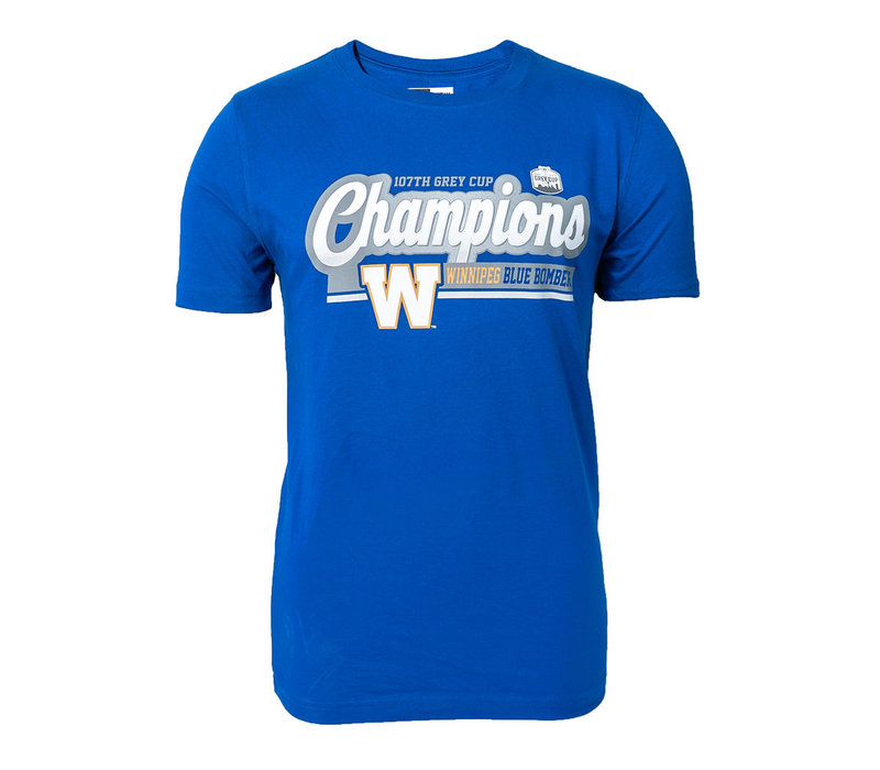 Grey Cup Champs Blue Bombers T