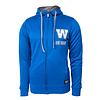 New Era Arched Primary Blue Bombers Zip Up Hoodie