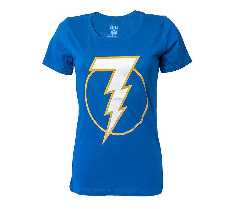 Ladies Lucky Lightningbolt 7 T