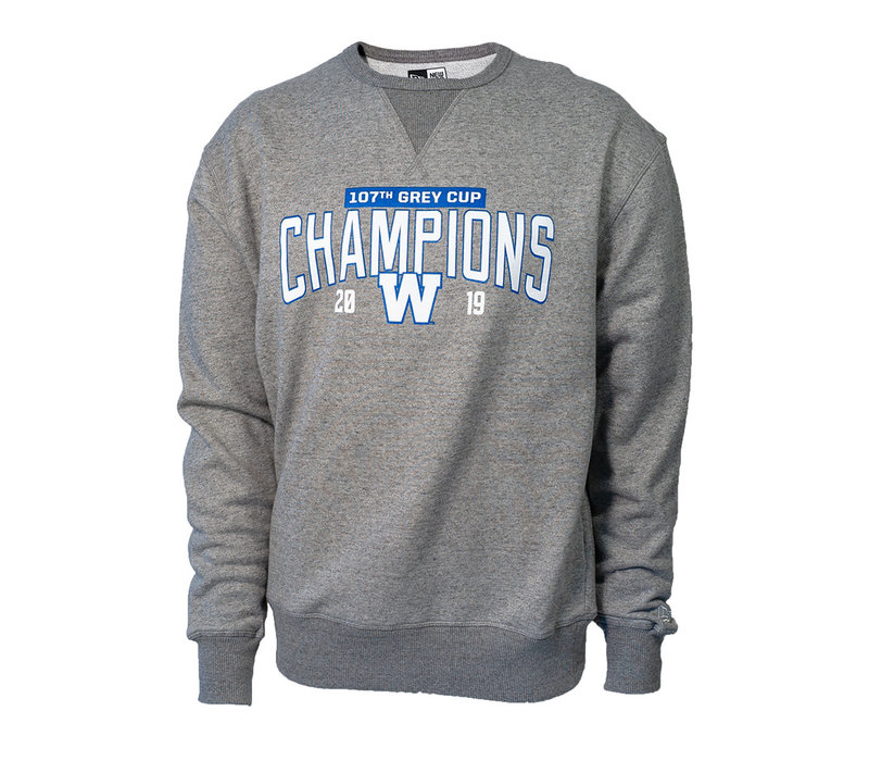 Grey - Royal 107th Grey Cup Crewneck