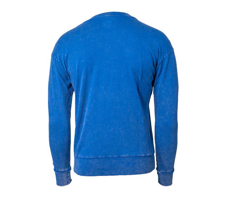 Women's Arched Blue Bombers Cuffed Fleece Sweatshirt
