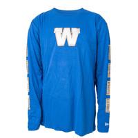 Primary W Winnipeg Blue Bombers Long Sleeve