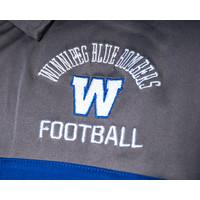 Arched Winnipeg Blue Bombers Contrast Polo