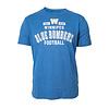 New Era Distressed Blue Bombers Logo Tee