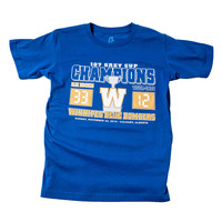 Youth Royal Grey Cup Score Tee