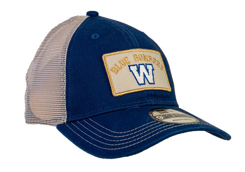 New Era 9Forty Truck Blue Bombers Patch Cap