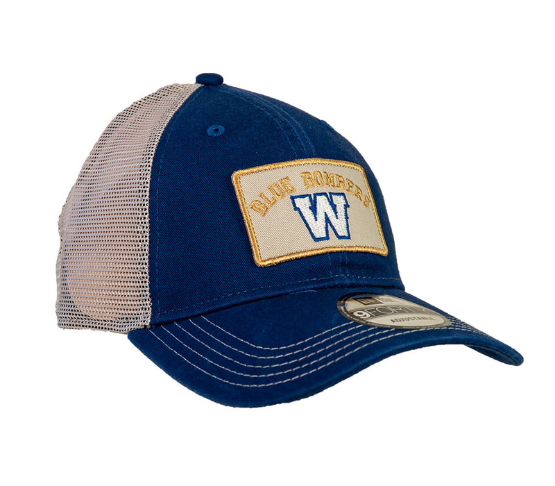 9Forty Truck Blue Bombers Patch Cap