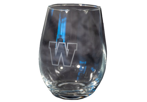 The Sports Vault 2 PCK Satin Etch Stemless Glass