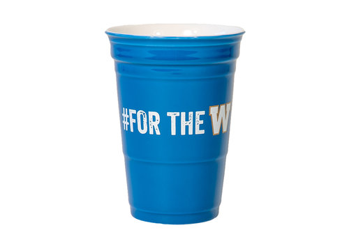 Leed's 12oz Ceramic #fortheW Cup