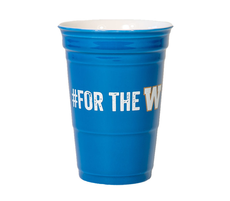 12oz Ceramic #fortheW Cup