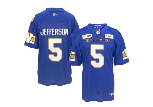 New Era #5 Jefferson Home Jersey