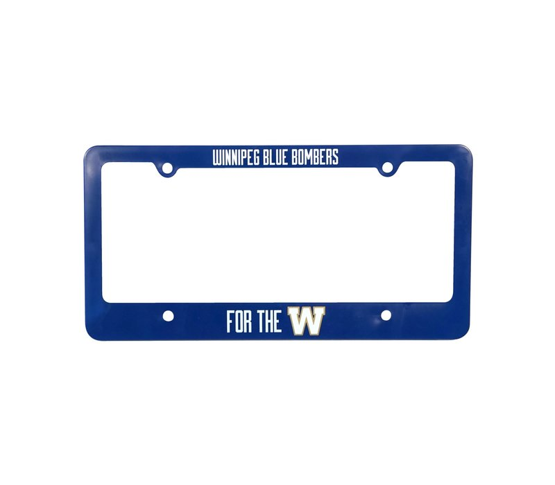 Royal For The W Licence Plate Frame