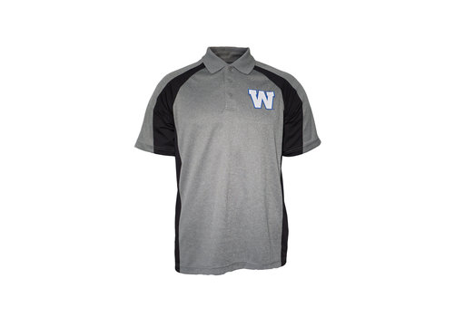 New Era Sideline Grey/Black Polo