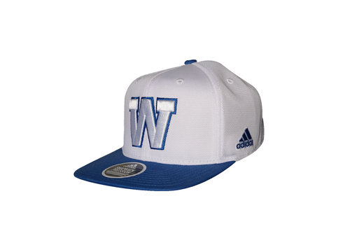 Adidas Fan Wear White Snapback Cap
