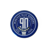 90th Season Lapel Pin