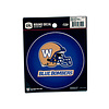 The Sports Vault Helmet-BlueBombers Round Decal