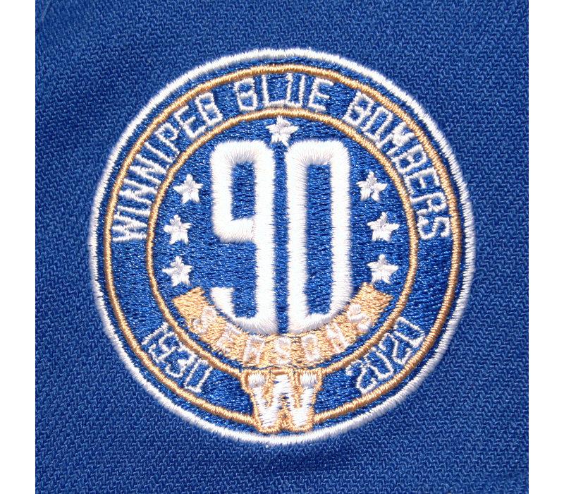 9Fifty Stretch Snap Royal 90th Season Cap