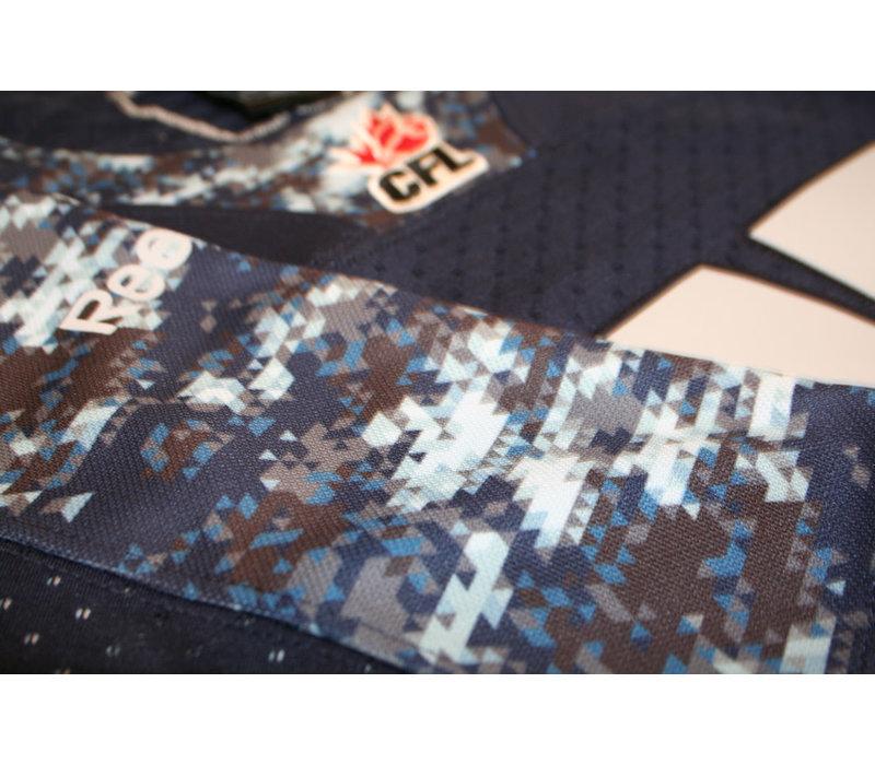 Reebok Women's Navy Camo Jersey