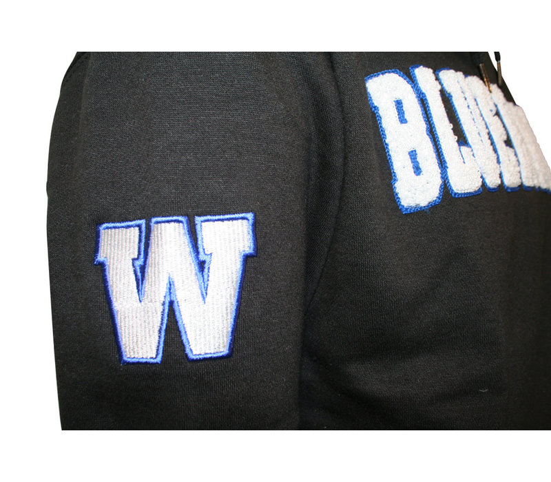 Chenille Blue Bombers Hoodie