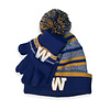 Gertex Boys Blue Bombers Toque and Glove Set