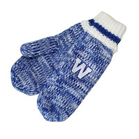 Ladies Blue Bombers Sherpa Lined Mitten