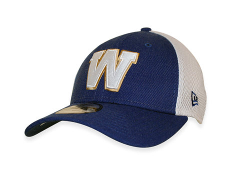 New Era 39Thirty Heather Front Neo Royal Cap