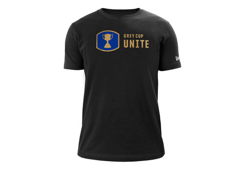 New Era Blue Bombers Grey Cup Unite Men's Crew Neck Tee
