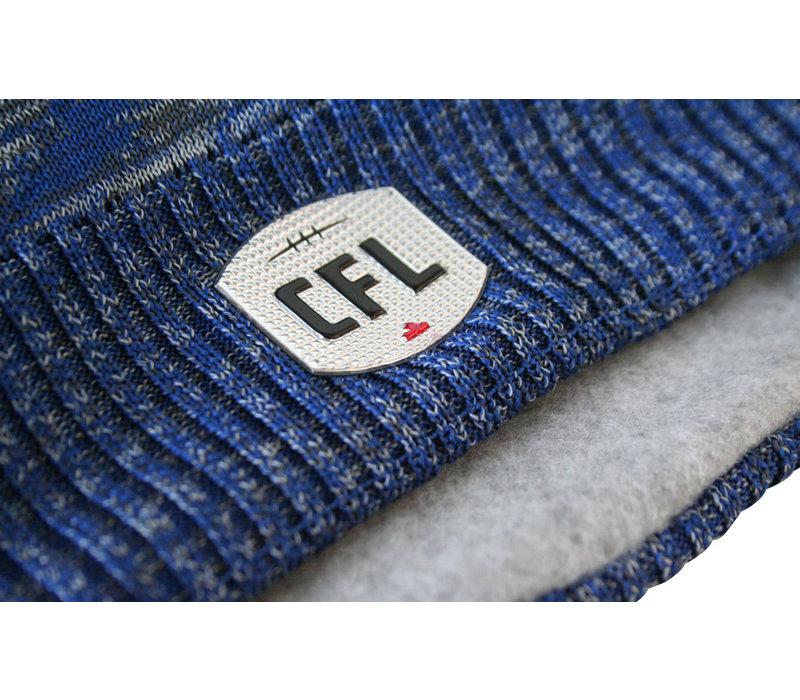 Sideline Diagonal Stripe Knit Beanie