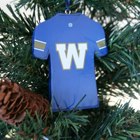 Resin Jersey Ornament