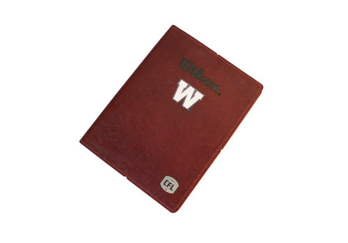 Wilson Football Leather Folder with Note Pad