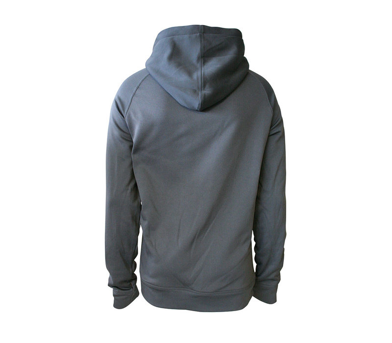 Grey - Royal  Circle Grey Cup Hoodie