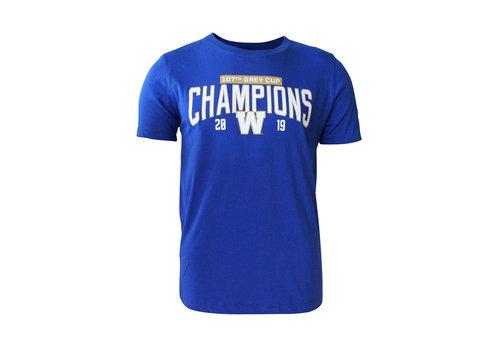 New Era Royal 107th Grey Cup Champ Tee