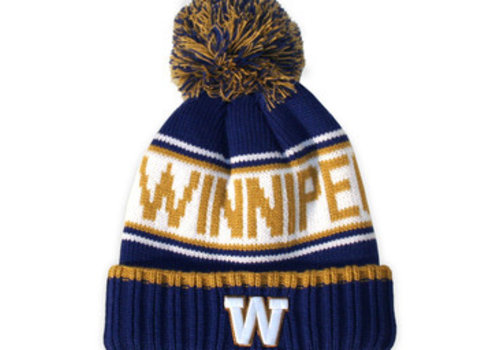Gertex Blue Bombers Heavy Knit Toque