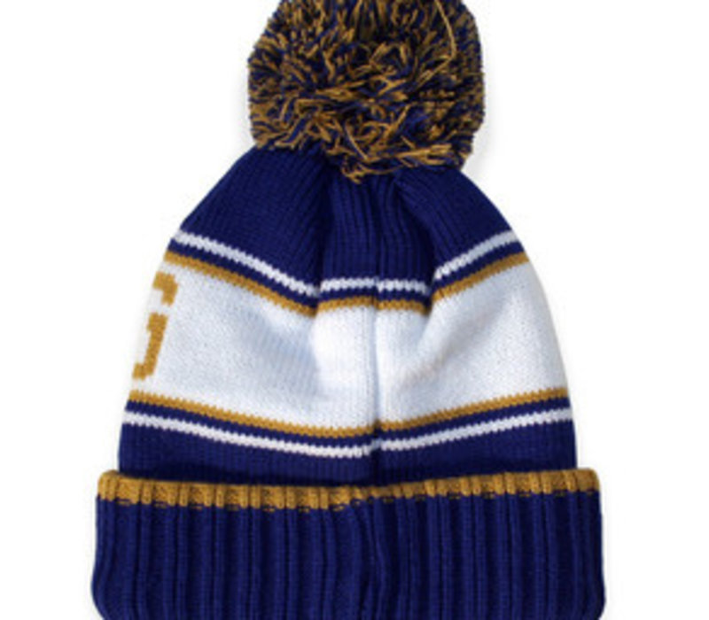 Blue Bombers Heavy Knit Toque