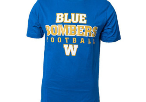 ESA Yth Blue Bombers Football Tee