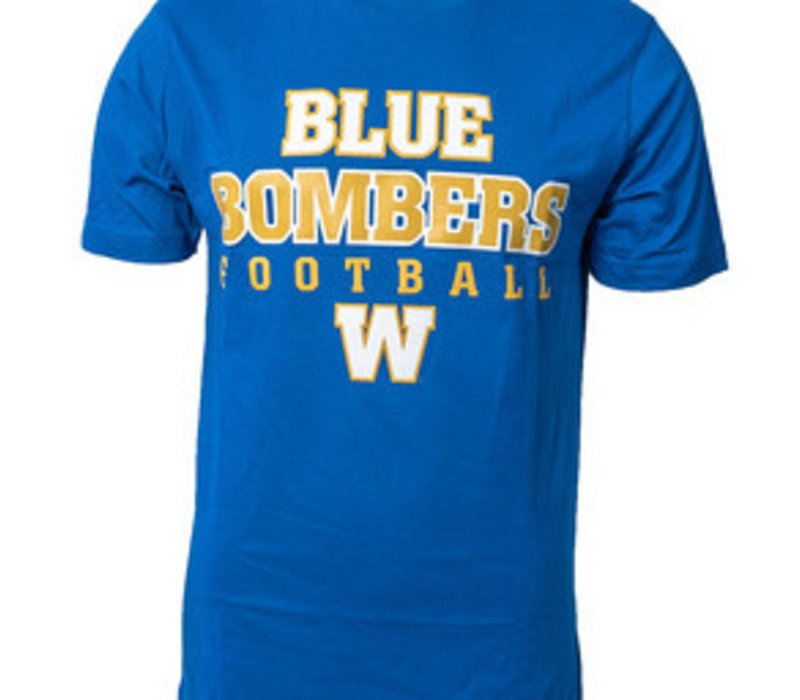 Yth Blue Bombers Football Tee
