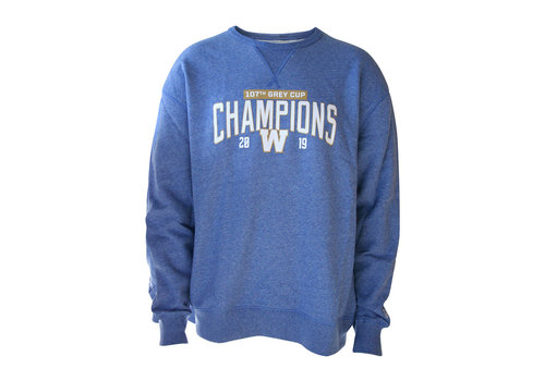 New Era Blue - Royal 107th Grey Cup Crewneck