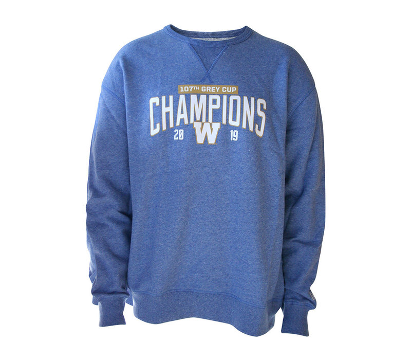 Blue - Royal 107th Grey Cup Crewneck
