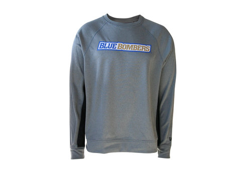 New Era Sideline Grey Wordmark Crew