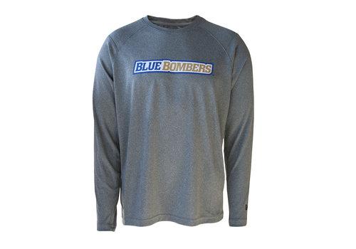 New Era Sideline Grey Wordmark L/S